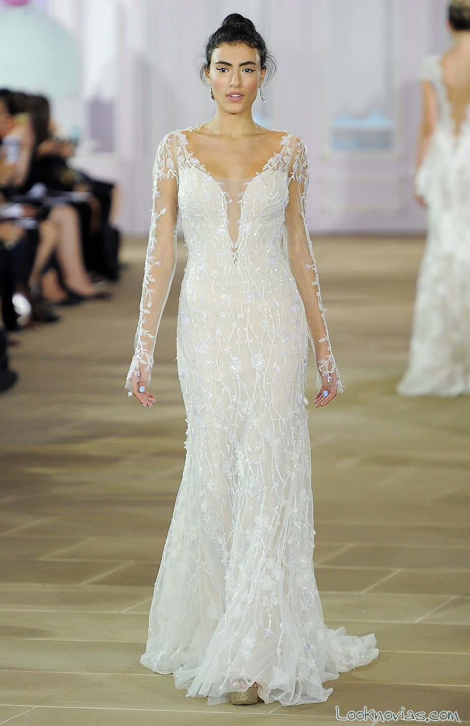 vestido recto novias ines di santo