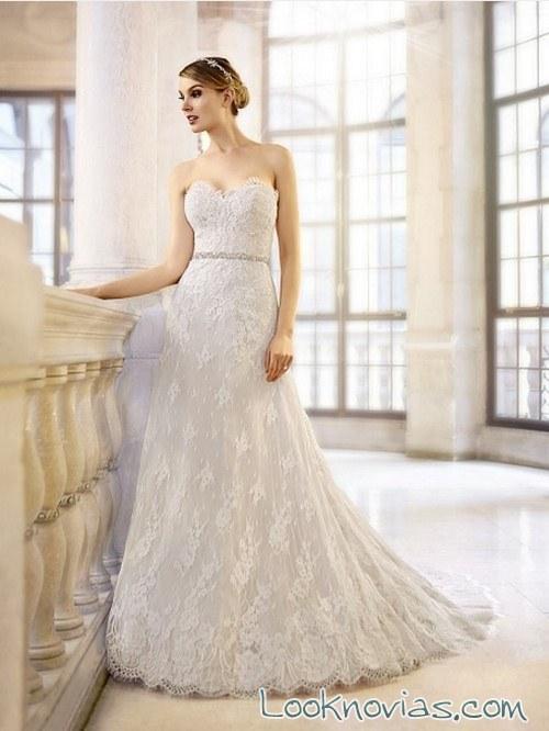 vestido recto novias moonlight bridal