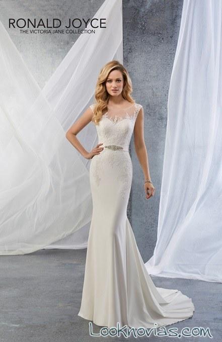 vestido recto victoria jane novias