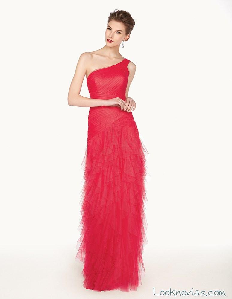 vestido rojo para las invitadas de boda