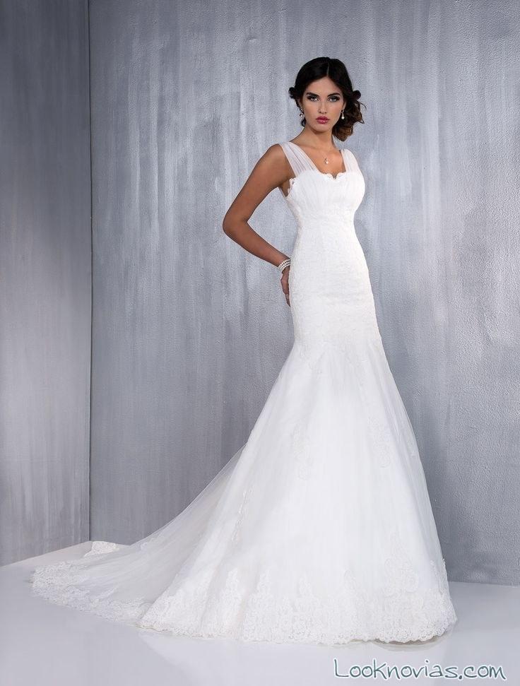 vestido sencillo de aurye mariage