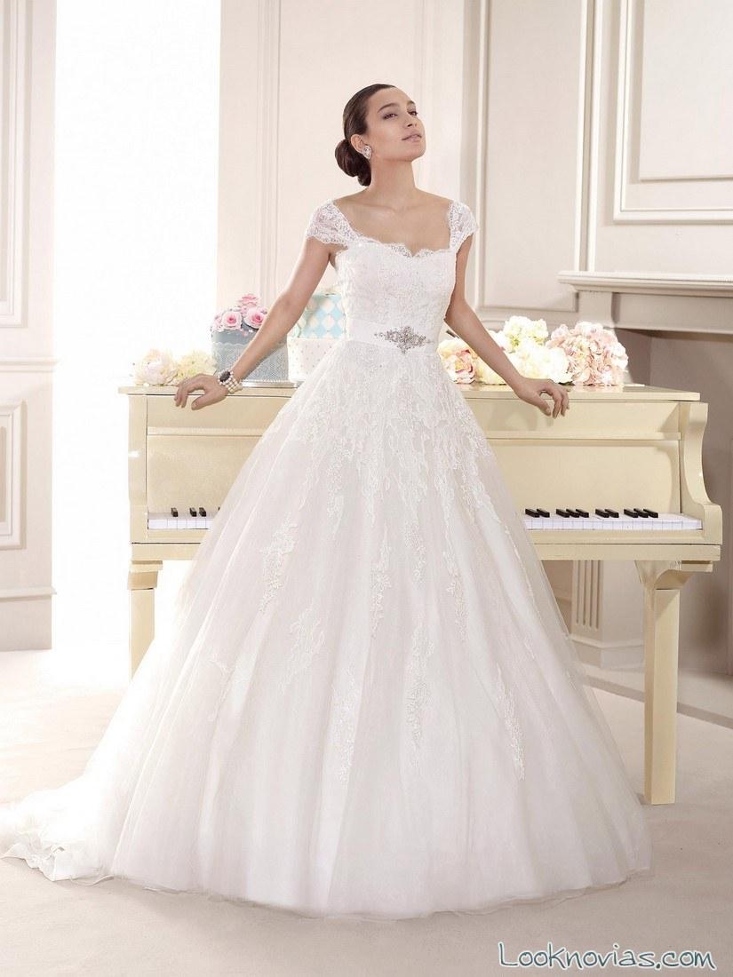 vestido sencillo de fara sposa