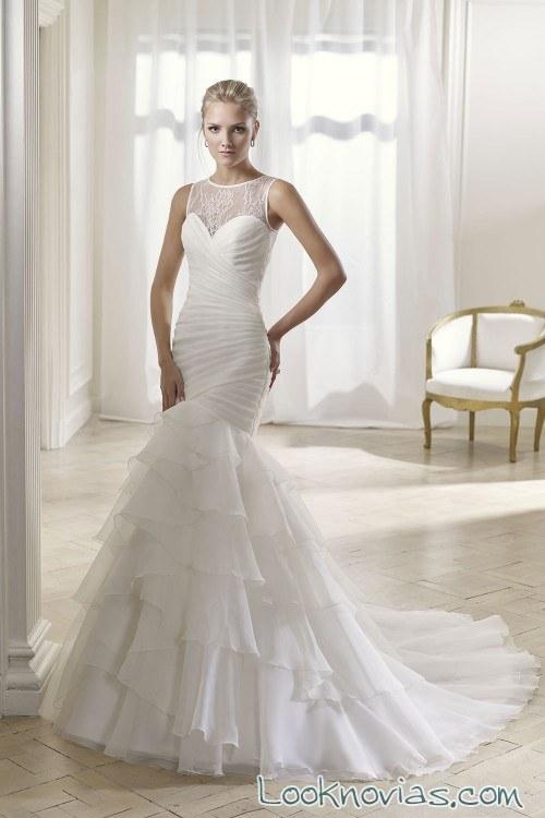 vestido sirena 2017 divina sposa