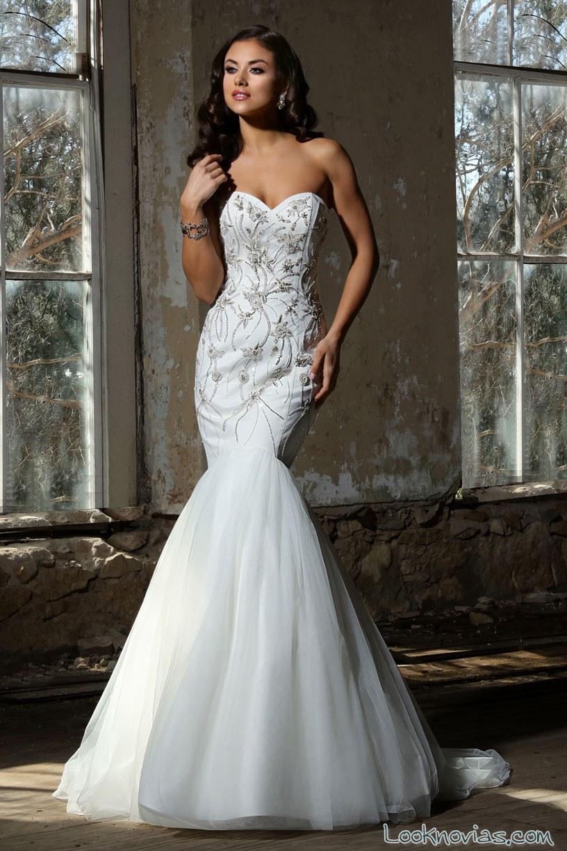 vestido sirena cristiano lucci novias