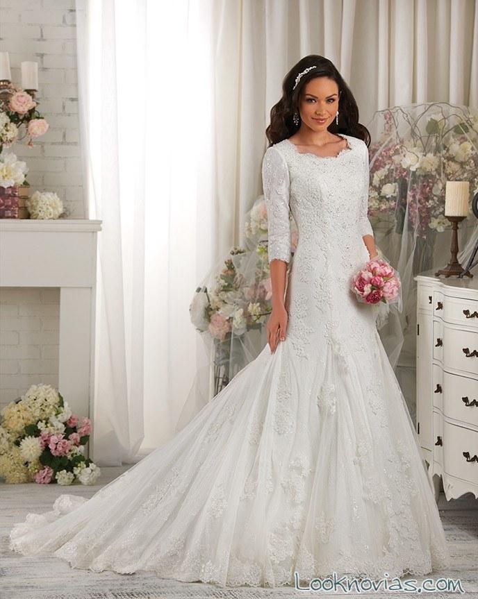 vestido sirena de bonny bridal