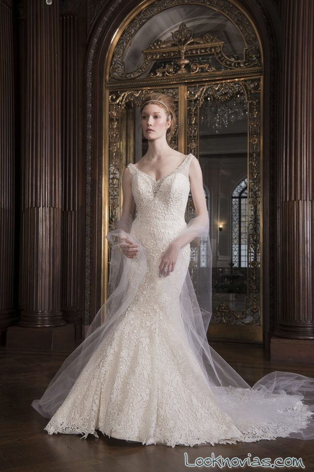 vestido sirena de chloe bridal