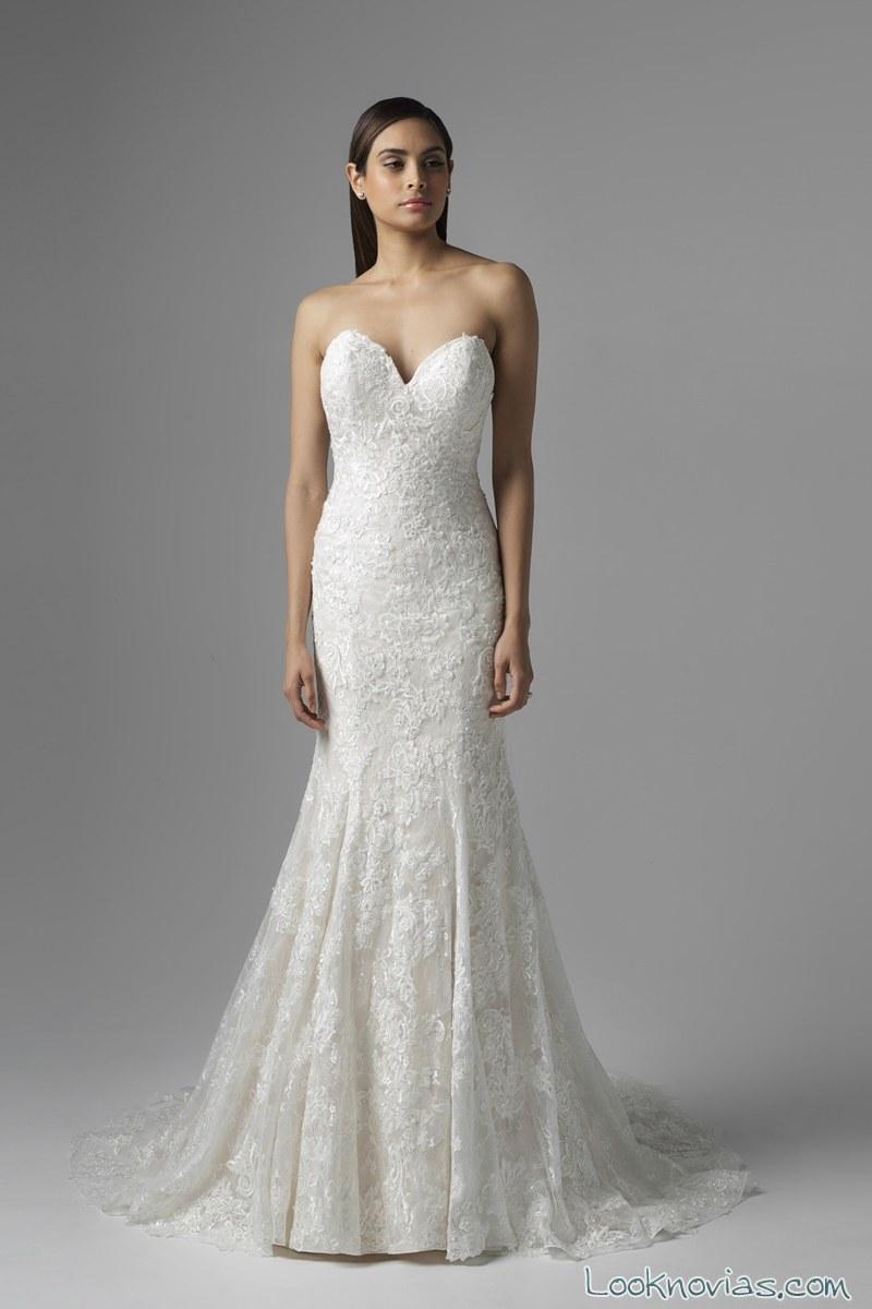 vestido sirena de novia mia