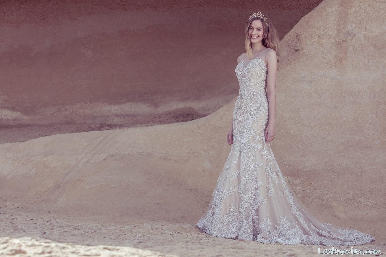 vestido sirena ellis bridal colección 2017