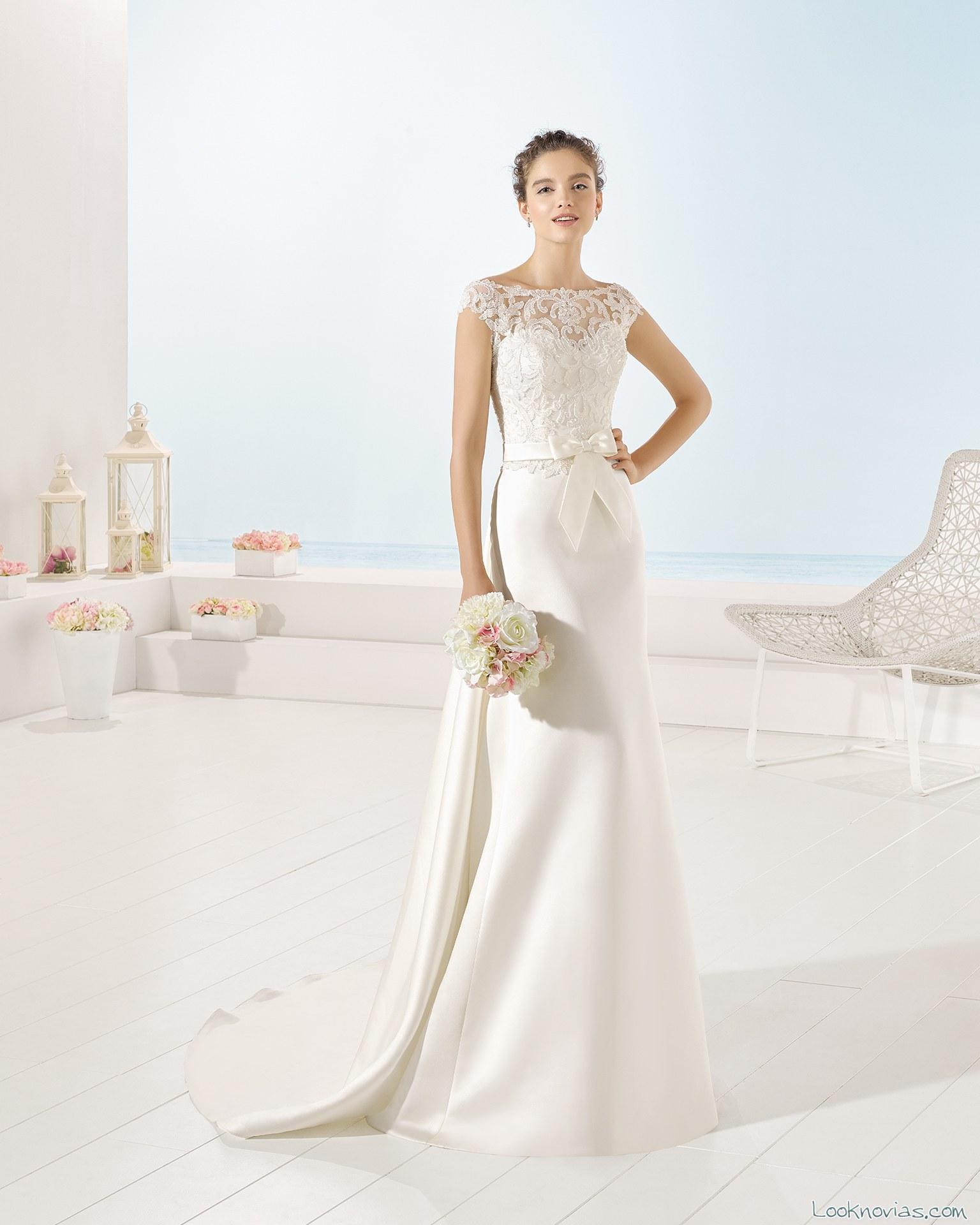 vestido sirena fantasía luna novias