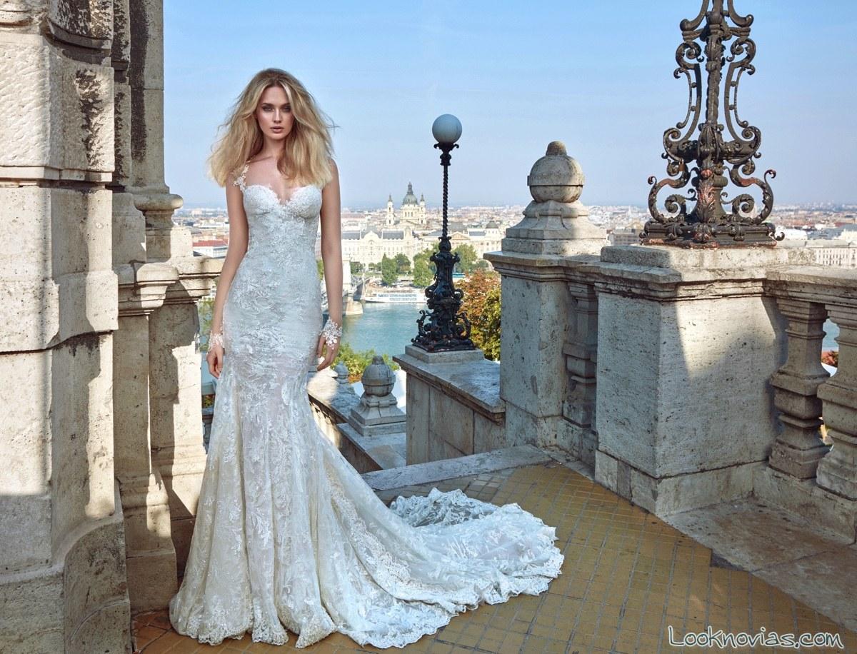 vestido sirena galia lahav alta costura