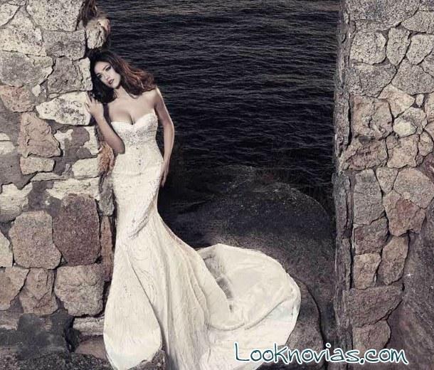 vestido sirena julia kontogruni