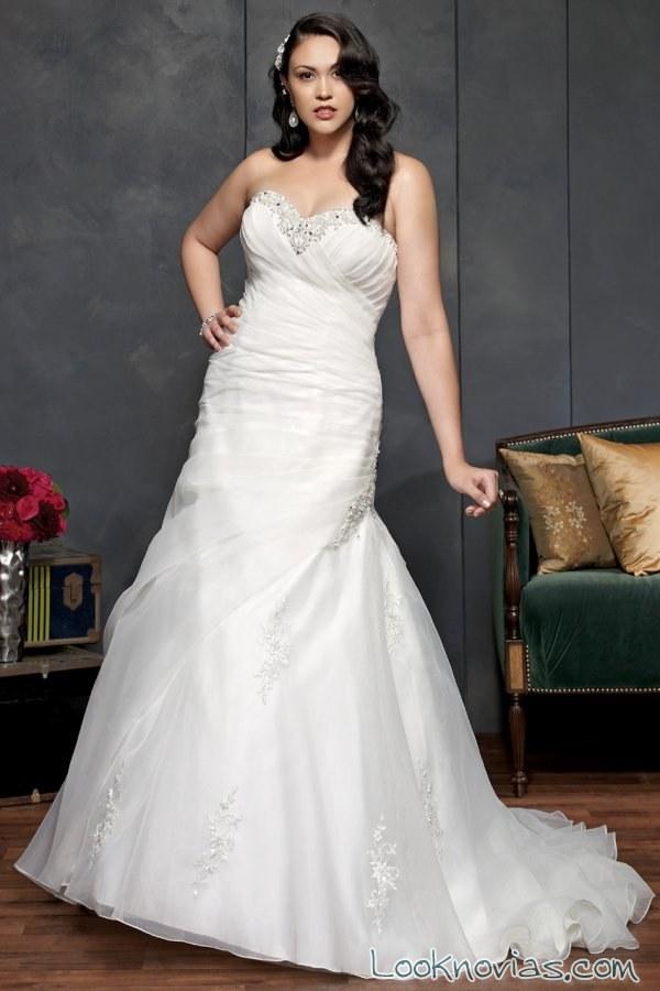 vestido sirena kenneth winston novias
