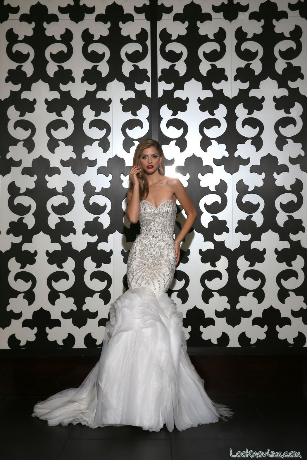 vestido sirena novias simone carvalli