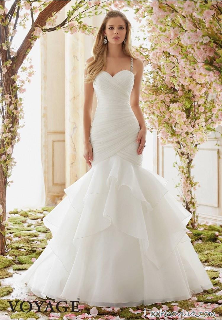 vestido sirena novias voyage