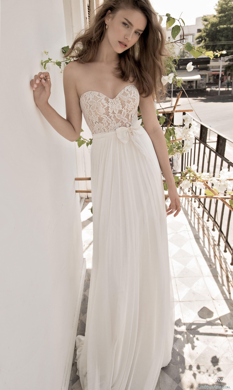 vestido strapless de flora bride