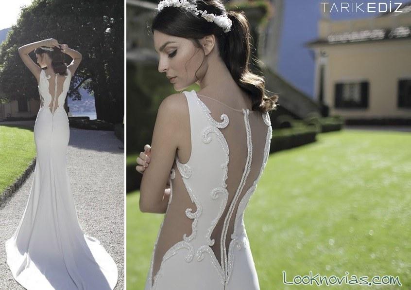 vestido tarik ediz de novias románticas