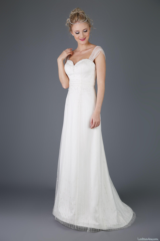 vestido tirantes de gasa emma bridals