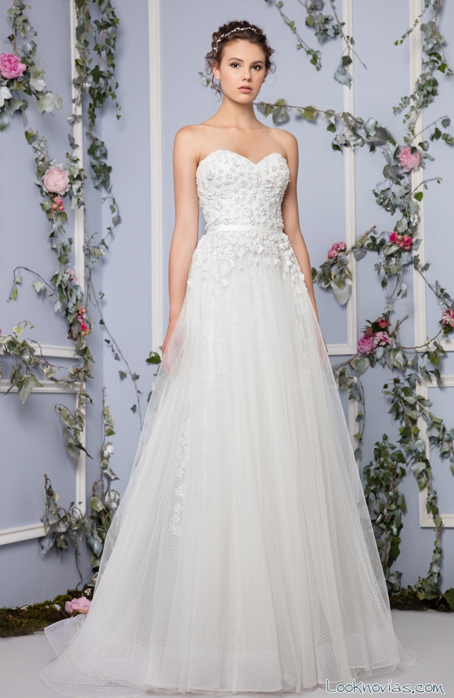 vestido tony ward novias sencillas
