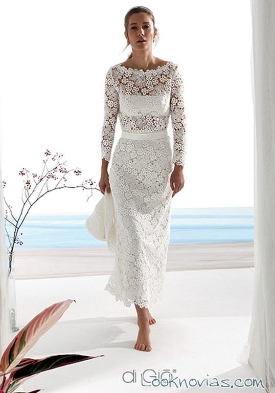 vestido transparencias novia di gio