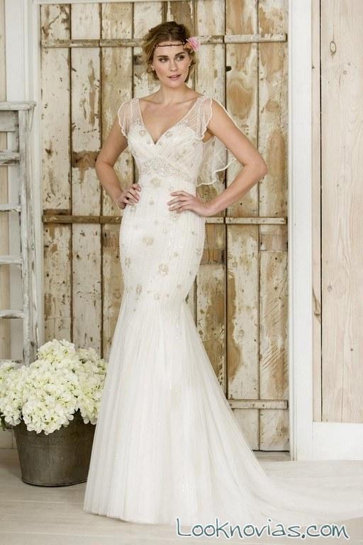 vestido true bride blanco recto juvenil