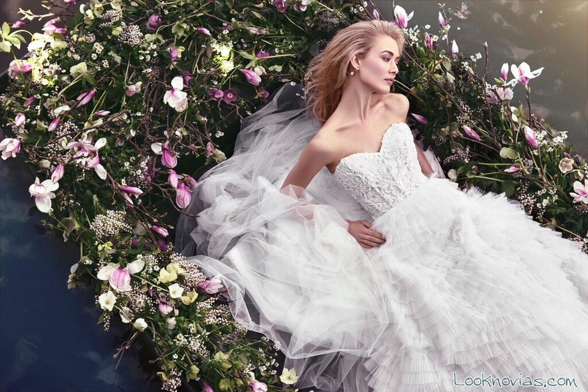 vestido vaporoso de ellis bridals
