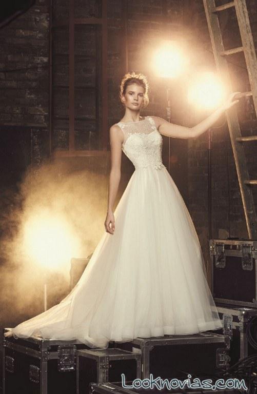 vestido vaporoso mikaella bridal