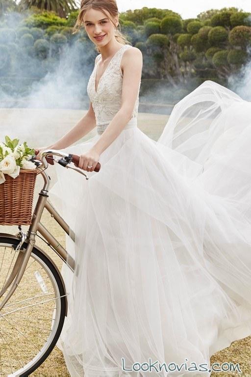 vestido vaporoso monique l´huillier bliss
