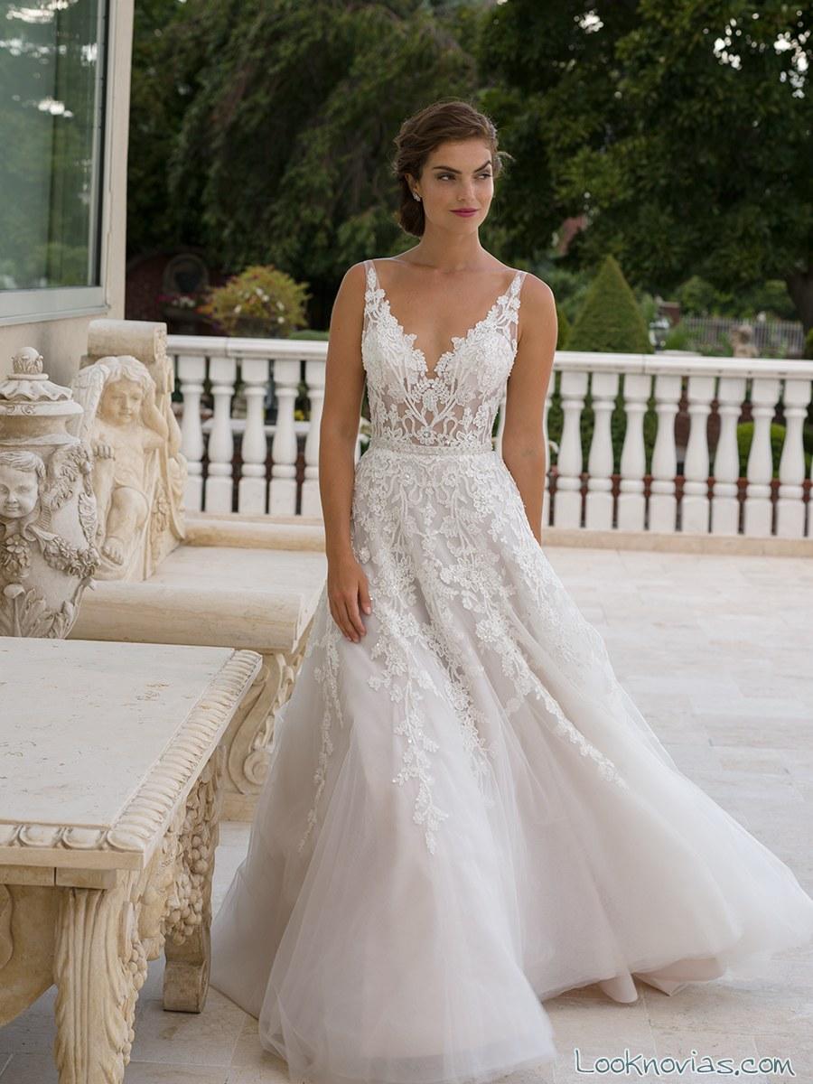 vestido vaporoso novias eve of milady