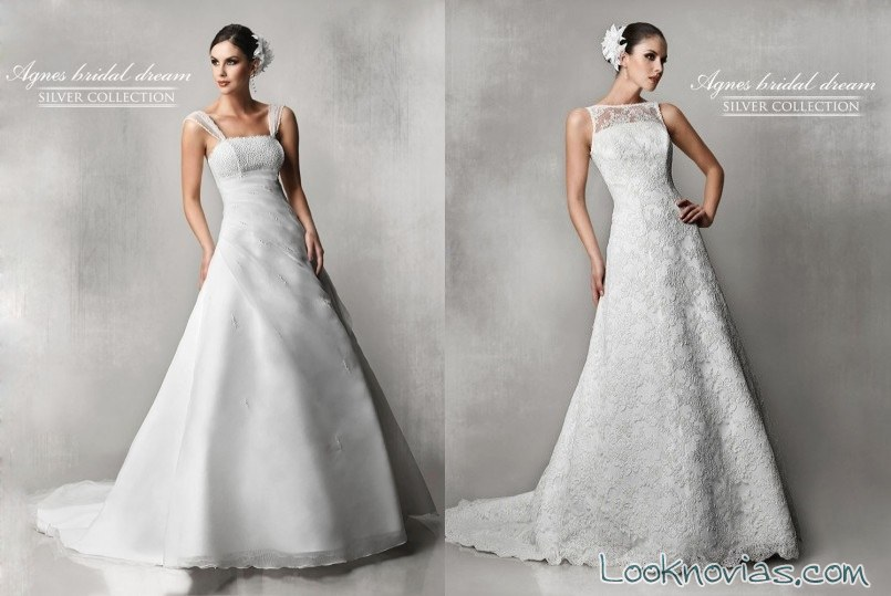 vestidos 2015 de Agnes Bridal
