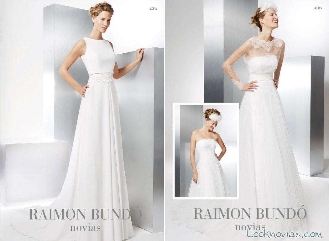 vestidos 2017 raimon bundó novias