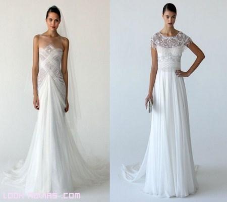 Vestidos de novia Marchesa