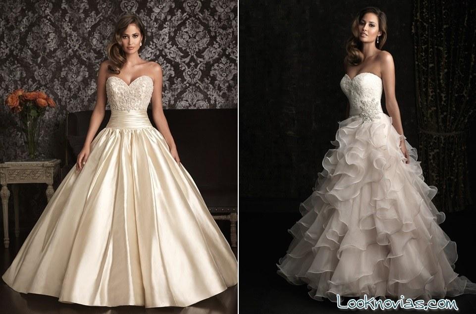 Las BridalsLook Novias Princesas De Allure jcLqAS34R5