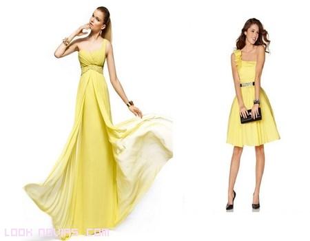vestidos de colores para invitadas