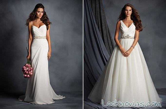 vestidos blancos alfred angelo