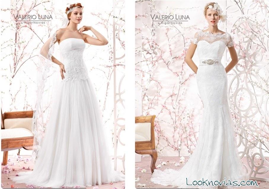 vestidos blancos de novia por valerio luna
