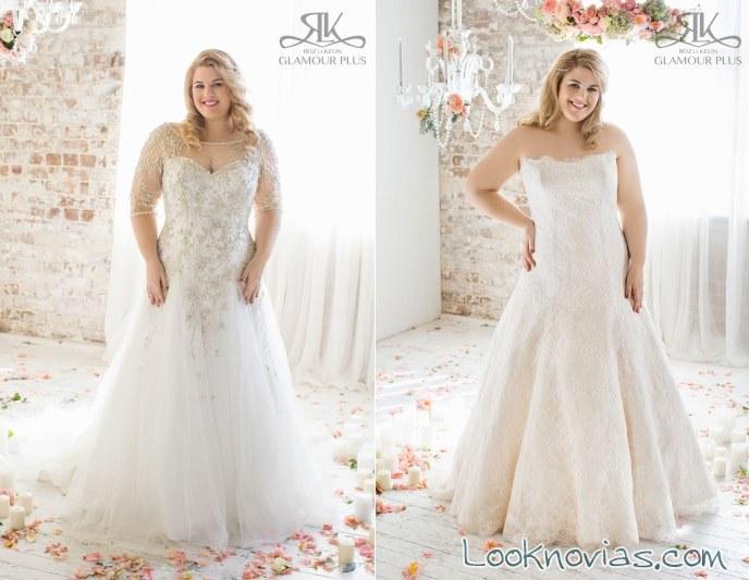 vestidos bordados novias roz la kelin