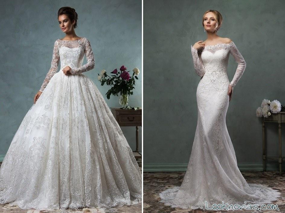 vestidos colección amelia sposa
