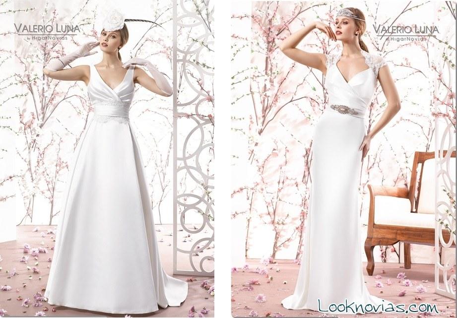 vestidos colección valerio luna