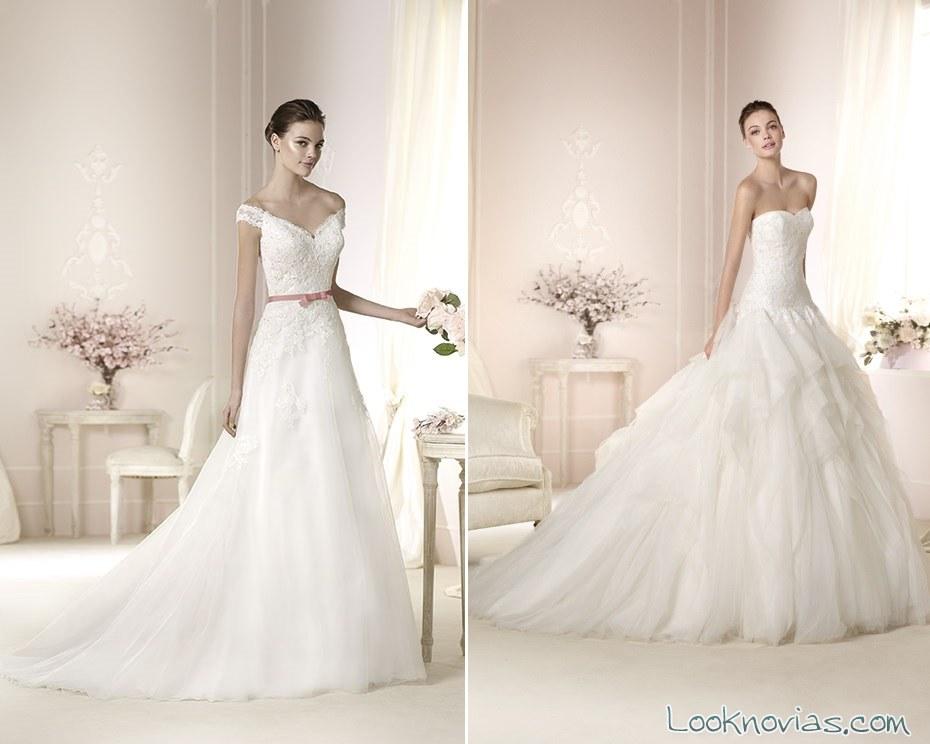 vestidos colección white one
