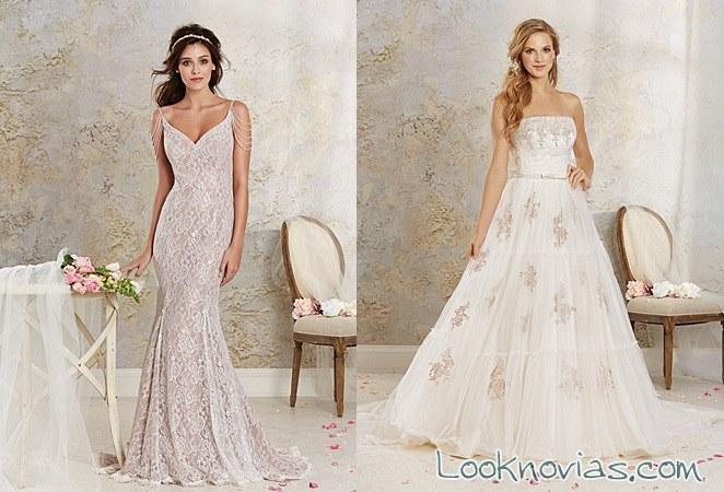 vestidos color de alfred angelo