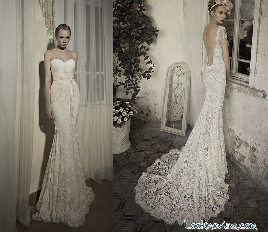 vestidos con bordados y escotes elegantes