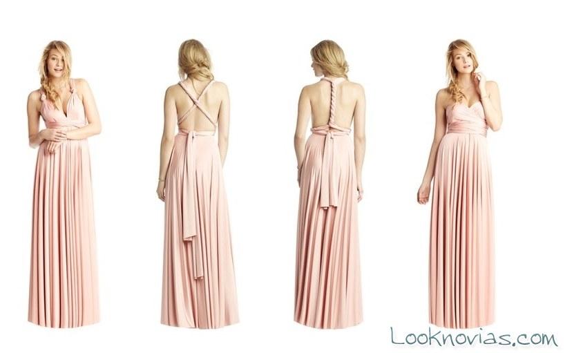 vestidos con diversos escotes