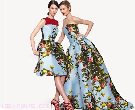 vestidos para bodas con estampados