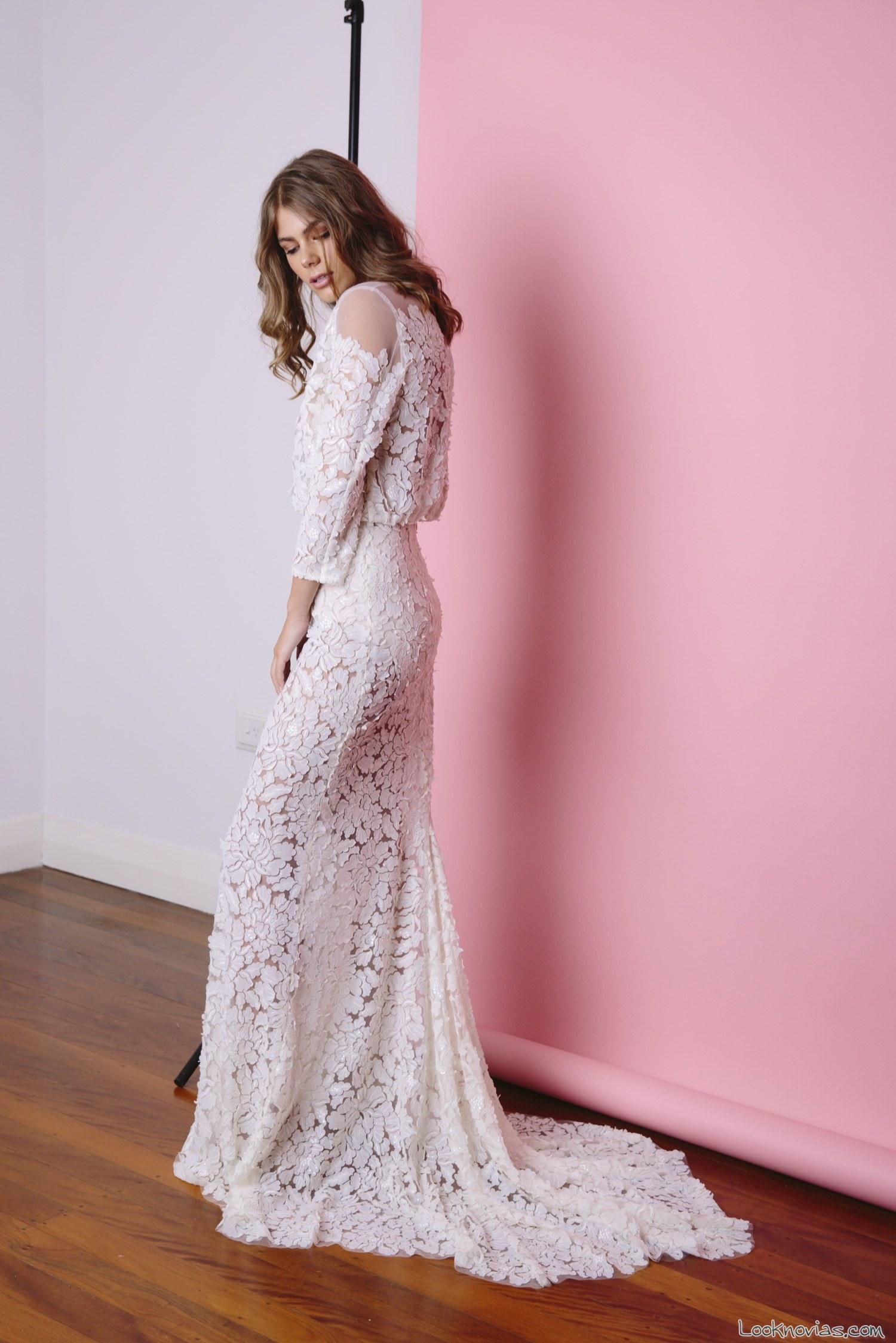 vestidos con transparencias de jennifer gifford