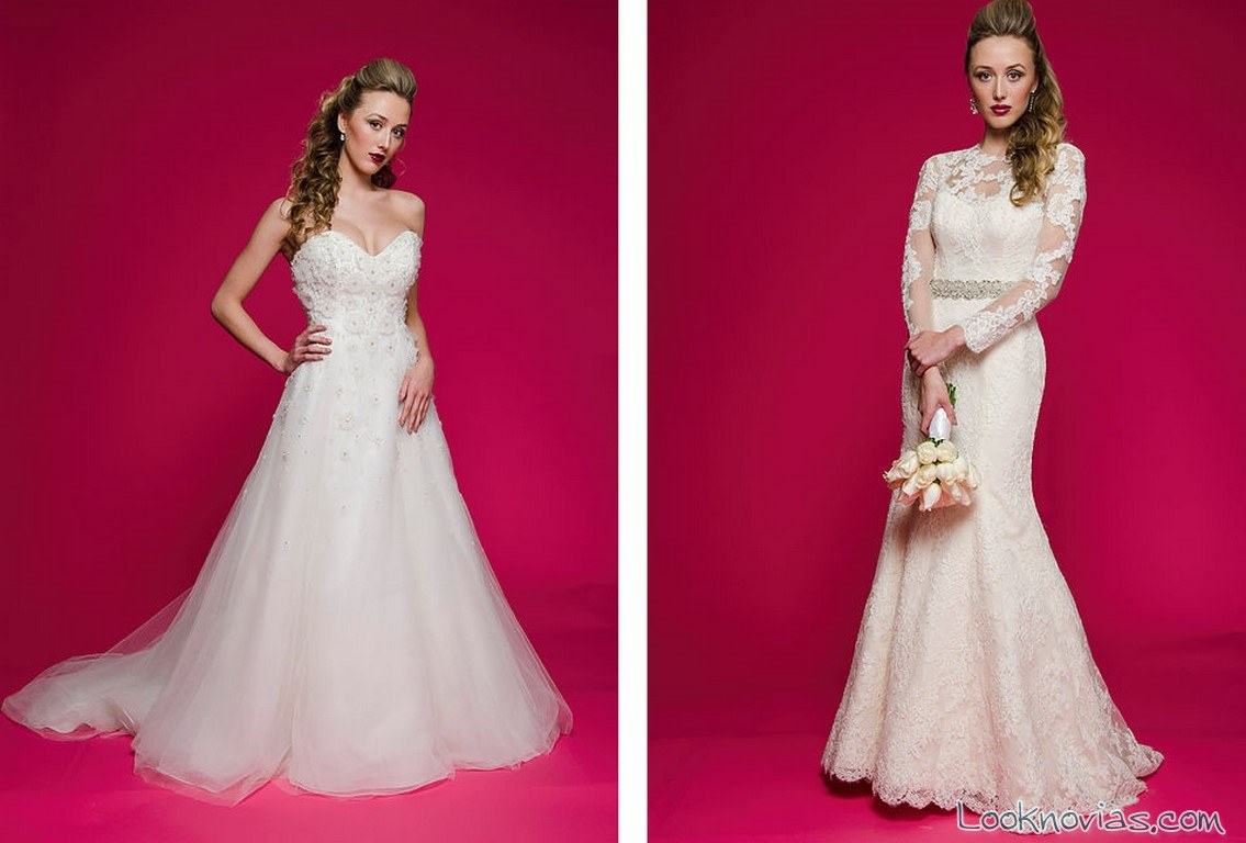 vestidos con volumen novias 2017