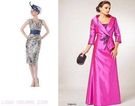 Madrinas vestidas de alta costura