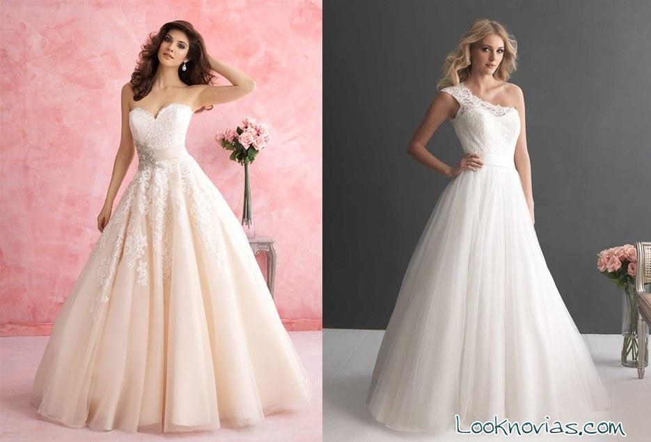 vestidos de corte A allure bridals