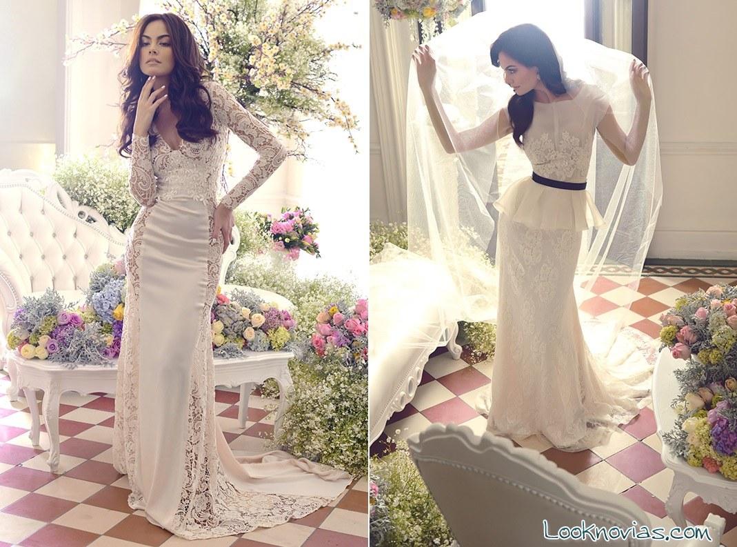 vestidos de corte recto benito santos