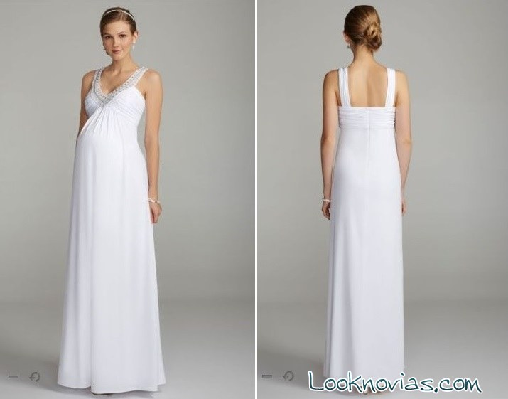 84d17c953 Vestidos de novia para embarazadas por David´s Bridal