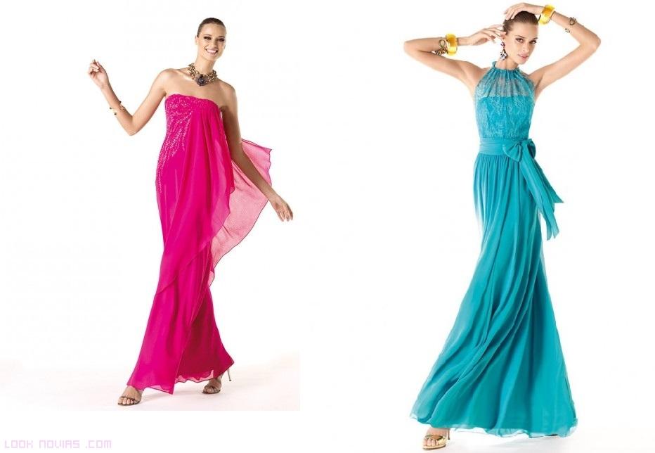 vestidos de fiesta escote halter